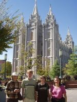 Witnessing to Mormons at Utah Temple Square